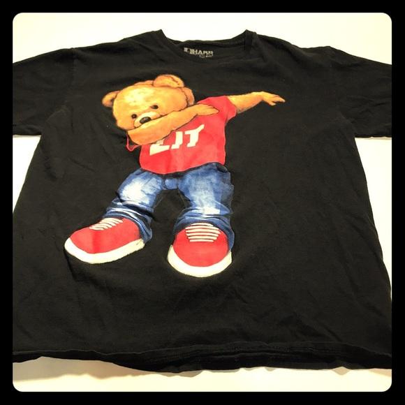 b49800f3c98f Hard Ten Tops | Lit Size Unisex Medium Dabbing With Lit Shirt On ...